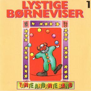 Lystige Børneviser 1 - CD / Tante Andante Band / 1994