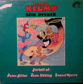 Rasmus Klump Som Dykker/Rasmus Klump Jorden Rundt - LP / Rasmus Klump / 1980