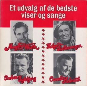 Et Udvalg Af De Bedste Viser Og Sange - 2LP / Mogens Wieth, Preben Uglebjerg, Holger Fællessanger*, Osvald Helmuth / 1979