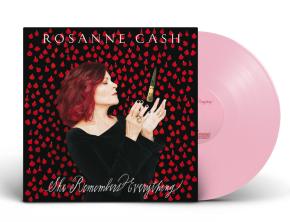 She Remembers Everything - LP (Pink vinyl) / Rosanne Cash / 2018