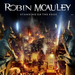 Standing On The Edge - CD / Robin Mcauley / 2021