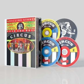 The Rolling Stones Rock And Roll Circus - 2CD+DVD+Blu-Ray (Bokssæt) / The Rolling Stones | Various Artists / 1989 / 2019