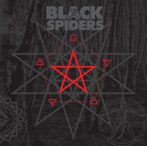 Black Spiders - LP (Rød Vinyl) / Black Spiders / 2021