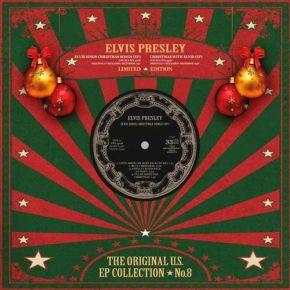 "Christmas EP - 10"" Rød vinyl / Elvis Presley / 2019"