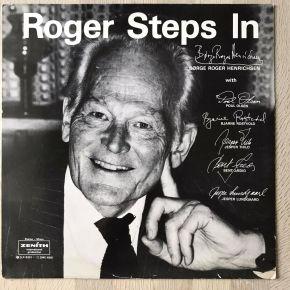 Roger Steps In - LP / Børge Roger Henrichsen / 1983