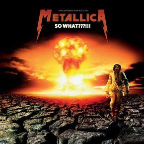 So What???!! - LP (Klar Vinyl) / Metallica / 1994 / 2017