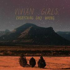 Everything Goes Wrong - LP (Farvet Vinyl) / Vivian Girls / 2009/2019
