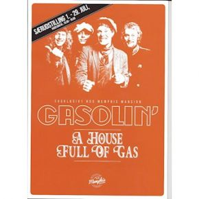 Gasolin - A House Full of Gas - Bog/Magasin / Gasolin & Kim Larsen / 2016