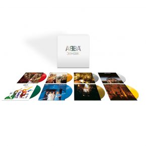 ABBA - The Studio Albums - 8LP Farvet Vinyl Boxset / Abba / 2020