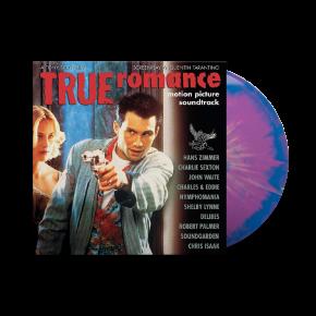 True Romance (Motion Picture Soundtrack) - LP (Blå & Lilla Splatter Vinyl) / Various | Soundtrack / 1993/2021