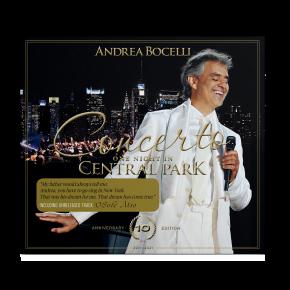 Concerto: One Night in Central Park (10th Anniversary) - CD / Andrea Bocelli / 2011/2021