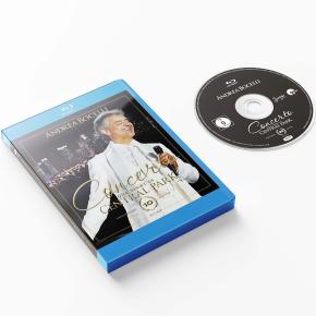 Concerto: One Night In Central Park (10th Anniversary Edition) - Blu-Ray / Andrea Bocelli / 2011/2021