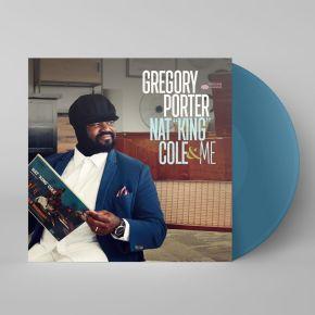 """Nat """"King"""" Cole & Me - 2LP (Blå vinyl) / Gregory Porter / 2017"""