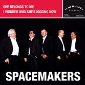 """She Belongs To Me/I Wonder Who She's Kissing Now - 7"""" / Spacemakers / 2013"""