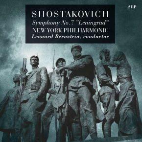 "Symphony No. 7 in C Major, Op. 60 ""Leningrad"" - 2LP /  Dmitri Shostakovich   New York Philharmonic*   Leonard Bernstein / 1962 / 2018"