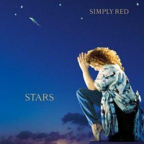 Stars - LP (Blå Vinyl) / Simply Red / 1991 / 2021