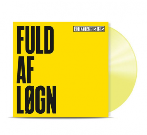 Fuld Af Løgn - LP (Gul vinyl) / Østkyst Hustlers / 1996 / 2018