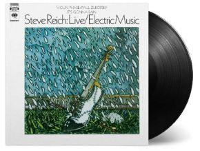 Live / Electric Music - LP / Steve Reich / 1968 / 2019