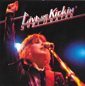 Live & Kickin' - 2LP (RSD 2021 Farvet Vinyl) / Suzi Quatro / 1977/2021