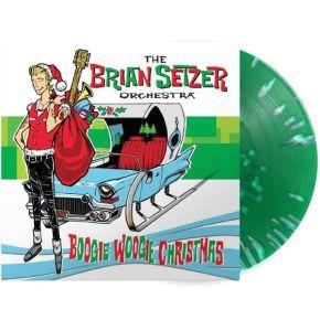 Boogie Woogie Christmas - LP (Grøn Splatter Vinyl) / The Brian Setzer Orchestra / 2019