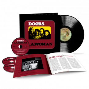 L.A. Woman - 3CD+LP (50th Anniversary Deluxe Edition) / The Doors / 1971/2021