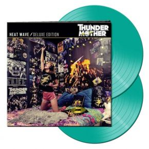 Heat Wave (Deluxe Edition) - 2LP (Mintgrøn Vinyl) / Thundermother  / 2021