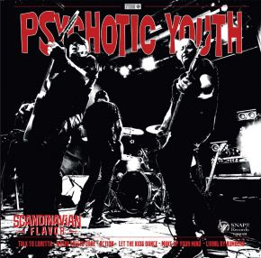 Scandinavian Flavor - LP (Rød Vinyl) / Psychotic Youth / Tommy And The Rockets / 2021
