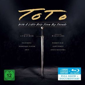 With A Little Help From My Friends - CD + Blu-Ray / Toto / 2021