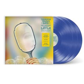 Layla Revisited: Live at Lockn' - 3LP (Gennemsigtig Blå Vinyl) / Tedeschi Trucks Band Featuring Trey Anastasio / 2021