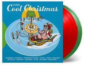 A Very Cool Christmas - 2LP (Rød og Grøn Vinyl) / Various Artists / 2019