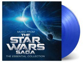 The Star Wars Saga | The Essential Collection - 2LP (Blå vinyl) / Soundtrack | Robert Ziegler / 2020