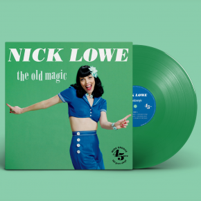 Old Magic - LP (Grøn Vinyl) / Nick Lowe / 2011/2021