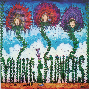 Blomsterpistolen - LP (Grøn vinyl) / Young Flowers / 1968 / 2021