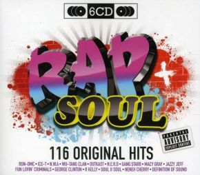 Rap + Soul - 116 Original Hits - 6CD (Boxset) / Various Artists / 2010