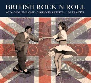 British Rock N Roll Volume One - 4CD / Various Artists / 2018