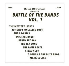 Wick Records Presents Battle Of The Bands Vol. 1 - LP (RSD 2020 Swirl Vinyl) / Various Artists / 2020