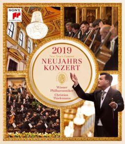 New Year's Concert 2019 (Neujahrskonzert) - Blu-Ray / Wiener Philharmoniker   Christian Thielemann / 2019