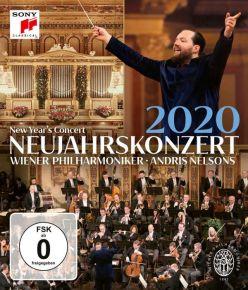 New Year's Concert 2020 - Blu-Ray / Wiener Philharmoniker   Andris Nelsons / 2020
