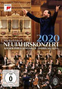 New Year's Concert 2020 - DVD / Wiener Philharmoniker   Andris Nelsons / 2020