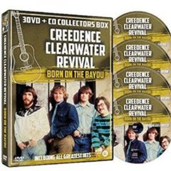 Born On The Bayou - 3DVD+CD / Creedence Clearwater Revival / 2015