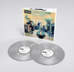 Definitely Maybe - 2LP (25th Anniversary Sølv Vinyl) / Oasis / 1994 / 2019