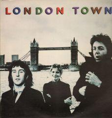 London Town - LP / Paul McCartney & Wings / 1978