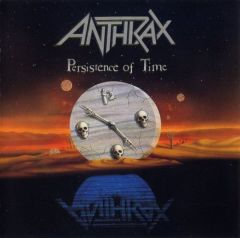 Persistence of time - CD / Anthrax / 1990