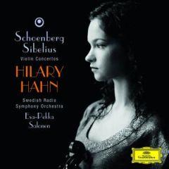 Violin Concerto - Hilary Hahn - CD / SchoenbergSibelius / 2008
