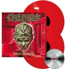 Violent Revolution - 2LP+CD (Rød vinyl) / Kreator / 2001 / 2017