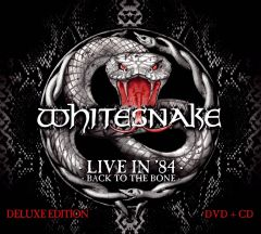 Live In '84 / Back To The Bone - cd+dvd / Whitesnake / 2014