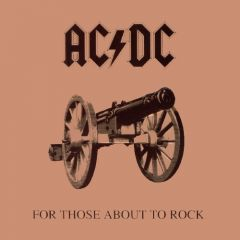 For Those About To Rock We Salute You - CD / AC/DC / 1981