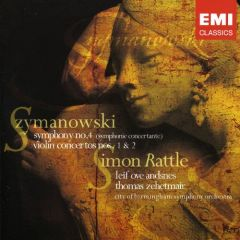 Violin Concertos Nos.1+2 - cd / Szymmanowski / 2004