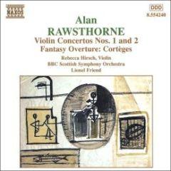 Violin Concertos Nos.1+2 - cd / Alan Rawsthorne / 1998