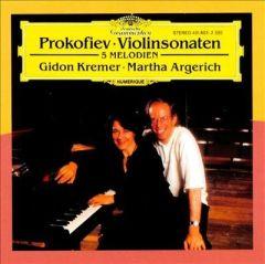 Violinsonaten - CD / Sergei Prokofiev / 1992